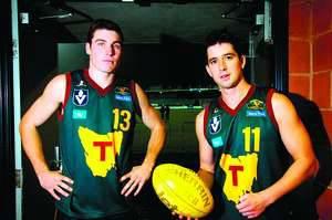07-R13 Tasmanian Devils players Brodie Moles and Jason Ling.jpg