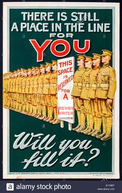 british-first-world-war-recruitment-poster-E1Y0BT.jpg