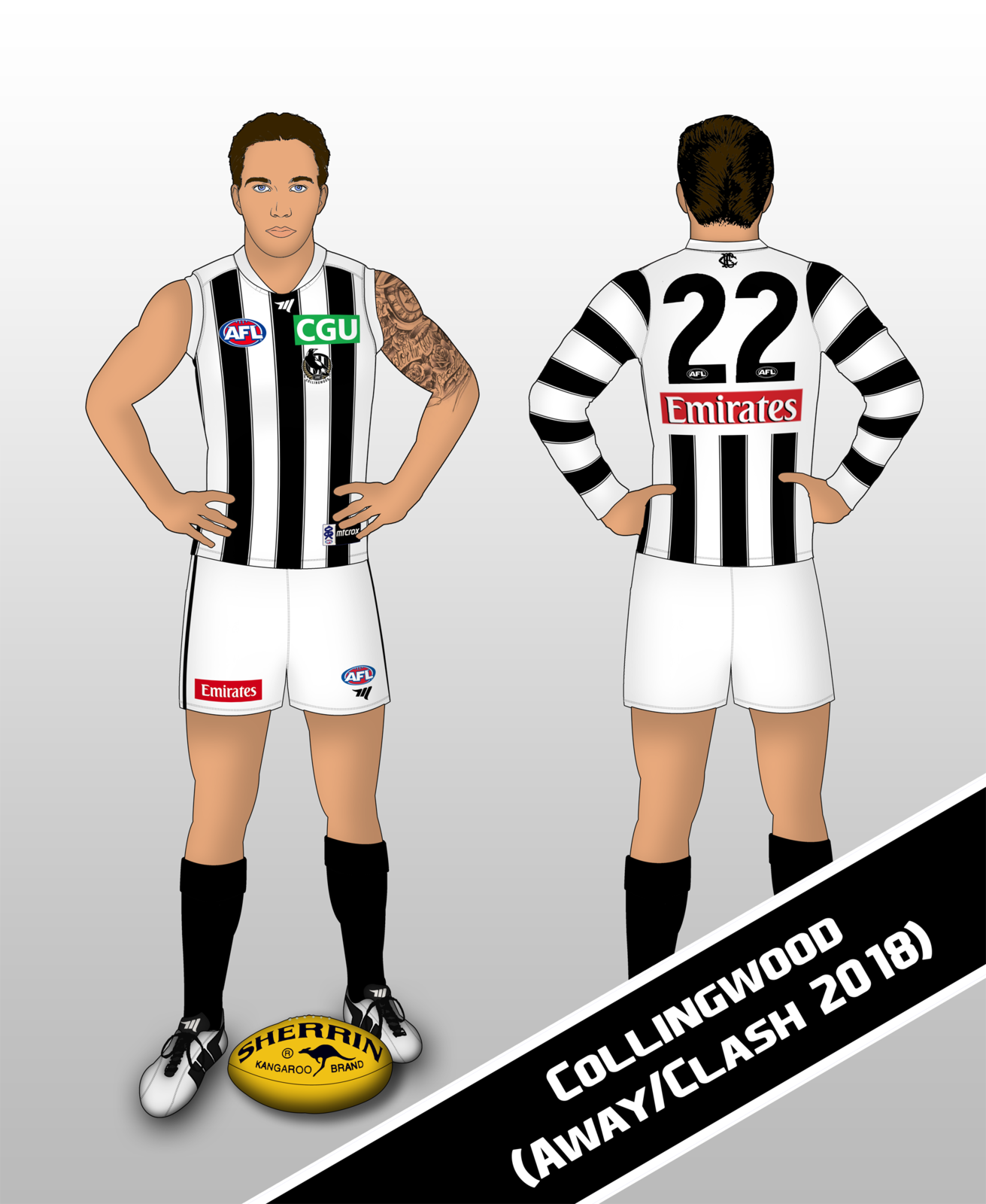 Collingwood - 2018 Away-Clash.png
