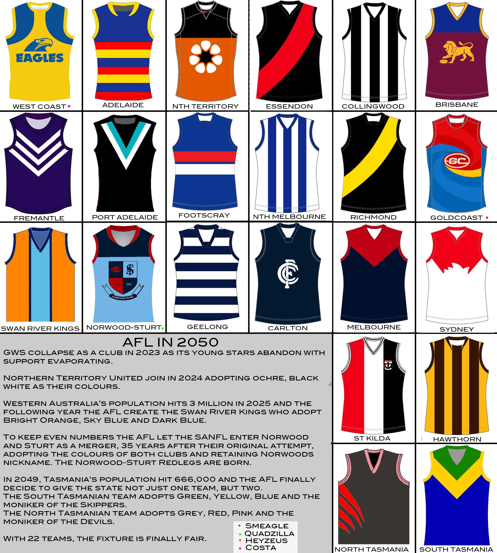 AFL 2050 - 24 Teams   Page 4   BigFooty