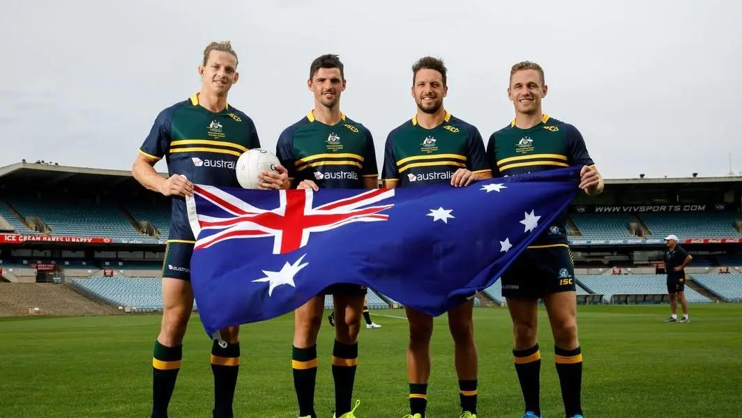 Nat-Fyfe-Scott-Pendlebury-Travis-Boak-and-Joel-Selwood-ahead-of-the-International-Rules-game-i...jpg