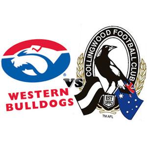Western Bulldogs v Collingwood - Round 6 2012