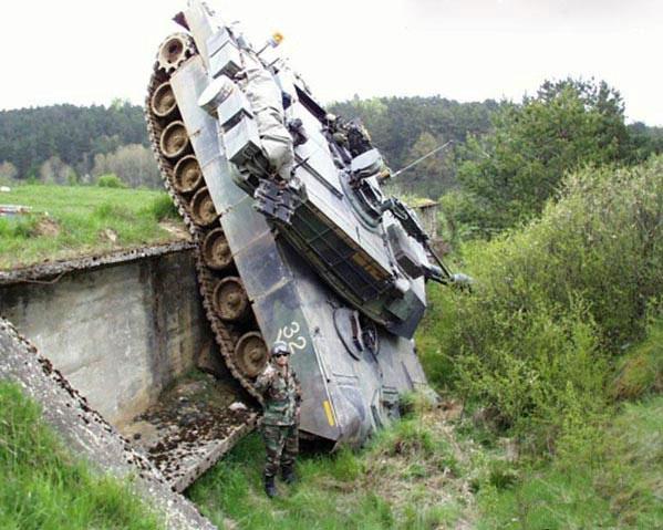 Tank Accident