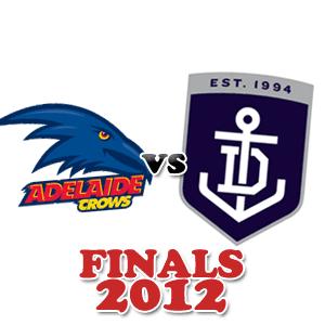adelaide logo fremantle logo finals 2012