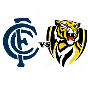 carlton vs richmond AFL round 1 2013