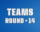 AFL Teams, Round 14 2014