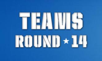 AFL Teams, Round 14 2014