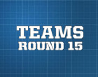 AFL Teams, Round 15 2014
