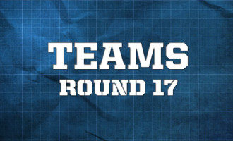 AFL Teams, Round 17 2014