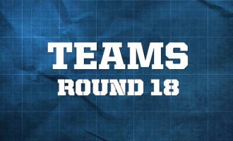 AFL Teams, Round 18 2014