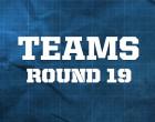 AFL Teams – Round 19, 2014