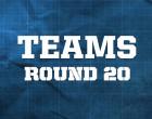 AFL Teams – Round 20,2014