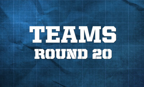 AFL Teams – Round 20,2014