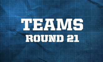 AFL Teams – Round 21, 2014