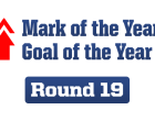 Goal and Mark of the Year – Round 19, 2014