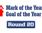Goal and Mark of the Year Nominations – Rd 20, 2014