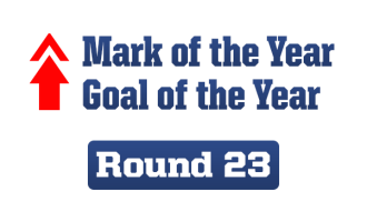 Goal and Mark of the Year – Round 23, 2014