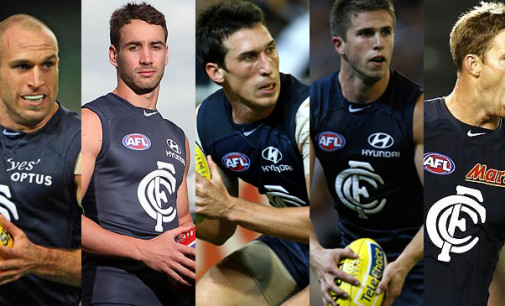 Carlton's 5 Important Players