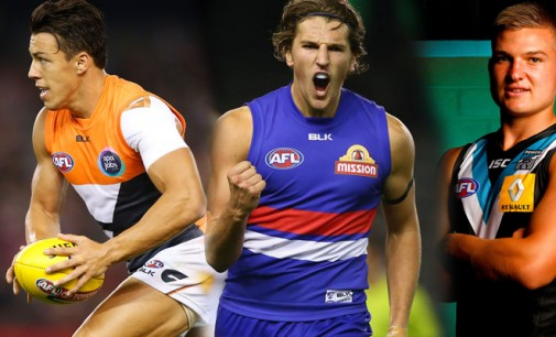 Which rising star would you rather: Shiel, Bontempelli or Wines?