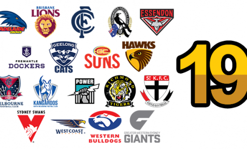 "I was saying ""boooo-t it up the guts"" – Round 19 AFL Pre-match talk threads"